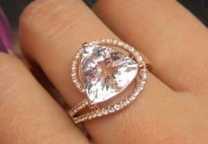 $1000 gold diamond ring