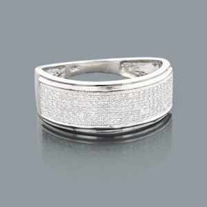affordable-mens-wedding-bands-10k-gold-diamond-ring-050ct_1