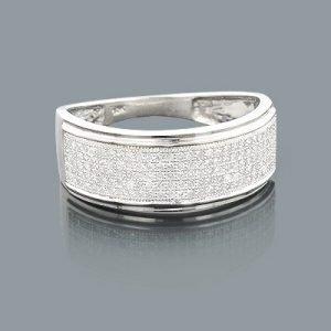 affordable-mens-wedding-bands-10k-gold-diamond-ring-050ct_1
