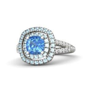 cushion-blue-topaz-18k-white-gold-ring-with-aquamarine-and-white-sapphire