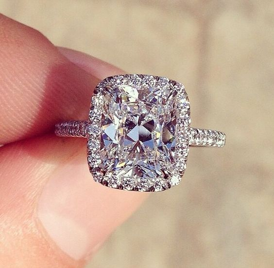 cushion cut engagement rings pros and cons - Wedding Ring Cuts