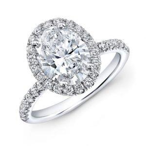 Halo Rings, Oval Diamonds, Oval Cut Diamonds, Bow Ties