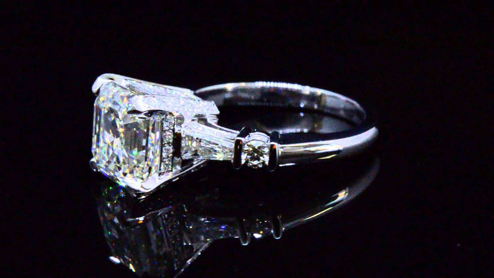 About The Asscher Cut General Information