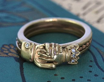 The History Of Wedding Bands Love You Tomorrow