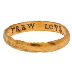 posy ring trew love is my desyre