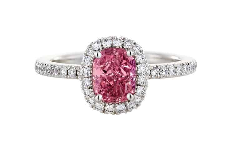 your buying guide for choosing a pink diamond - Pink Diamond Wedding Rings