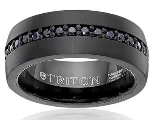 triton-mens-black-tungsten-8mm-black-sapphire-wedding-band-1cttw