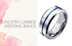 Tungsten Carbide Wedding Bands