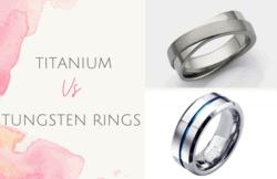 titanium vs tungsten rings