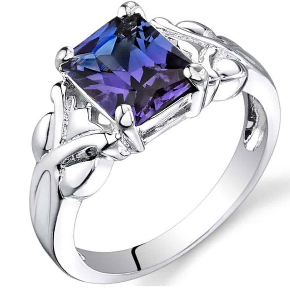 alexandrite-ring-sterling-silver-radiant-shape
