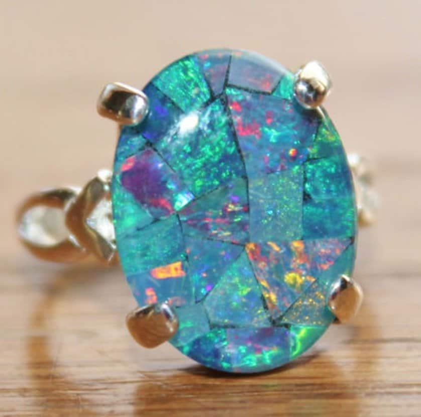 genuine-australian-opal-ringmosaic-opal-ringsterling-silveropal-jewelrybirthstonegift-for-herblue-opalgemstone-ring