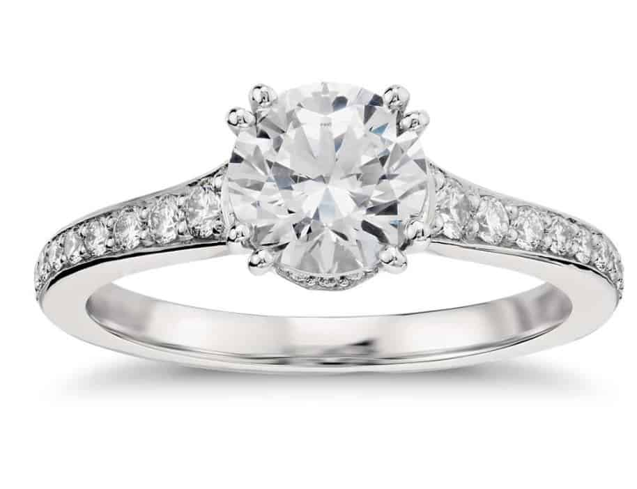 graduated-double-prong-pave-diamond-engagement-ring-in-platinum
