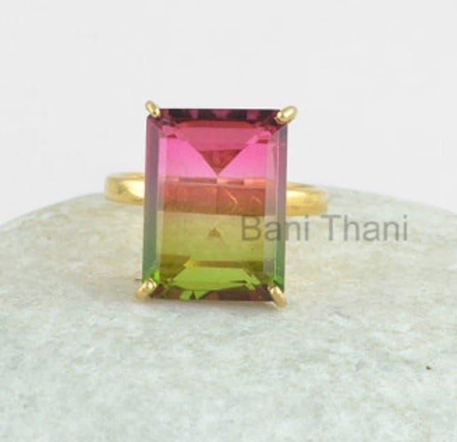 silver-ring-prong-set-ring-watermelon-tourmaline-bi-doublet-quartz-12x16mm-gemstone-ring