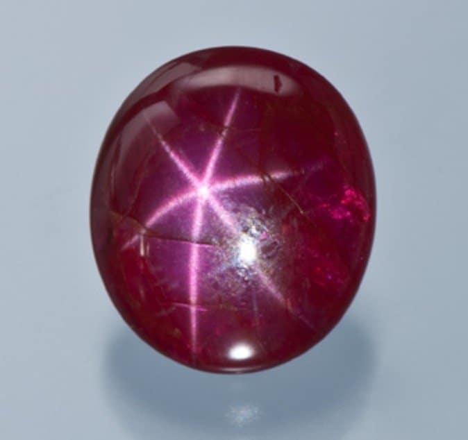 corundum asterism star ruby