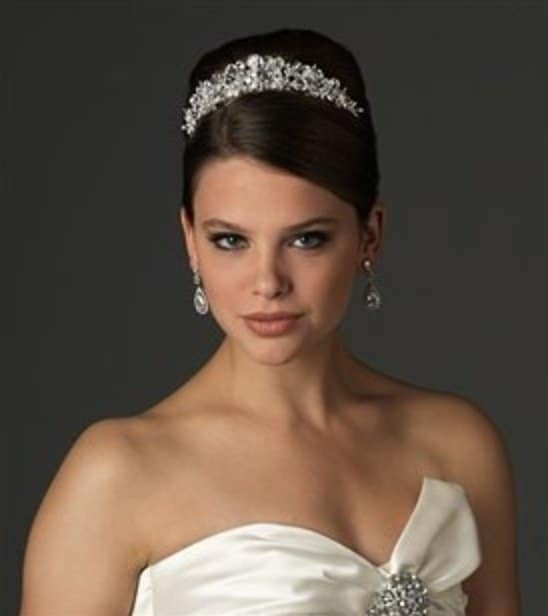 Elegant regal wedding crowns and tiaras for your special day junglespirit Images