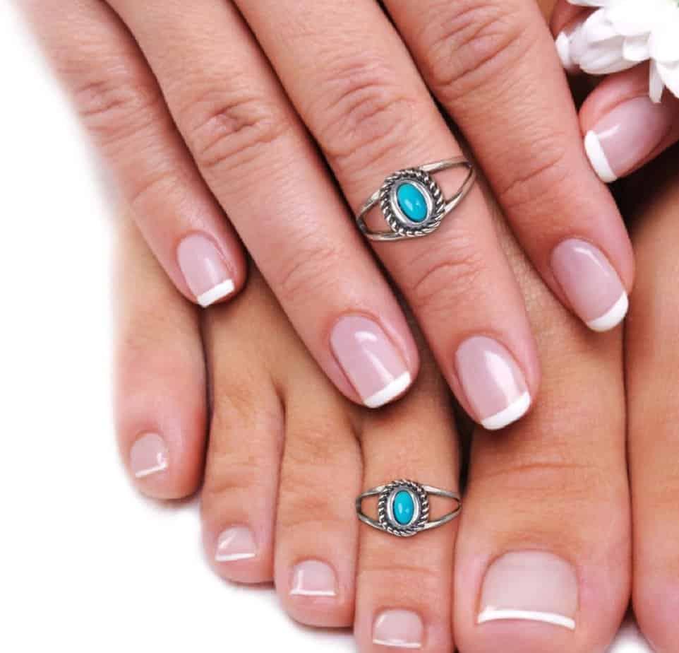 carolyn pollack American West Sterling Silver Sleeping Beauty Ring