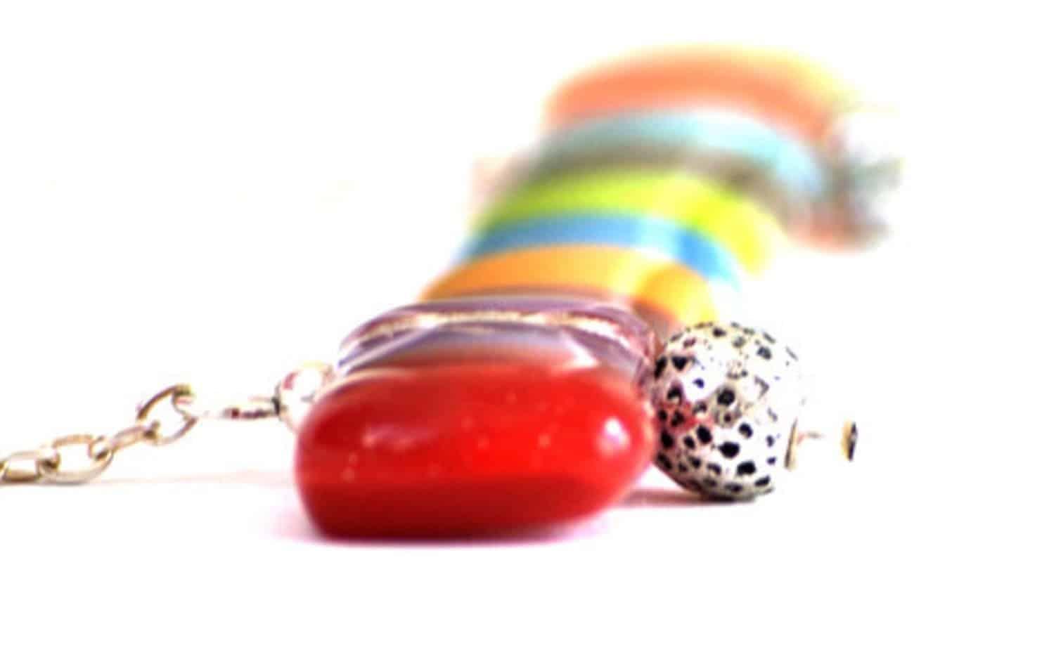 unique colorful jewelry