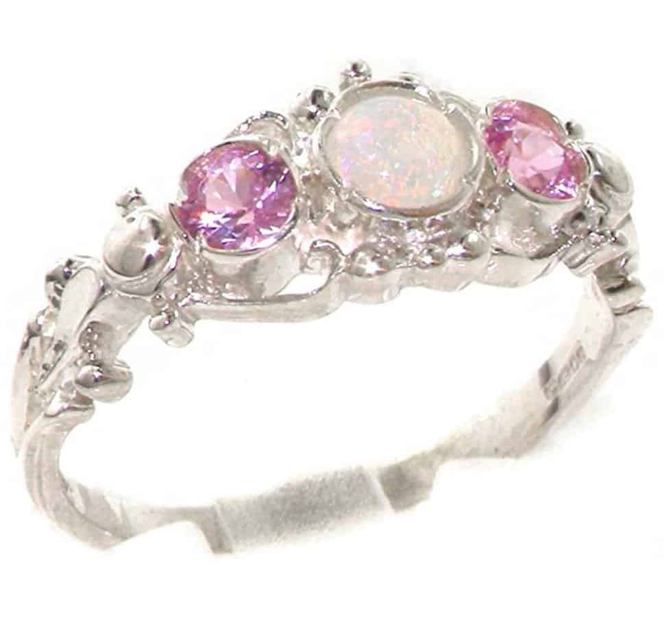 5 funky pink tourmaline engagement rings to really jazz for Funky wedding rings