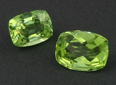 chemical properties of peridot