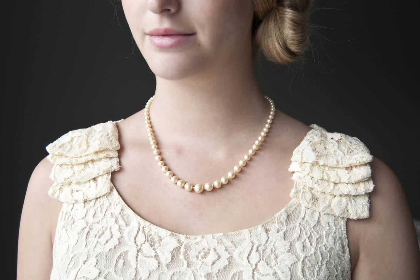 pearls simple but elegant