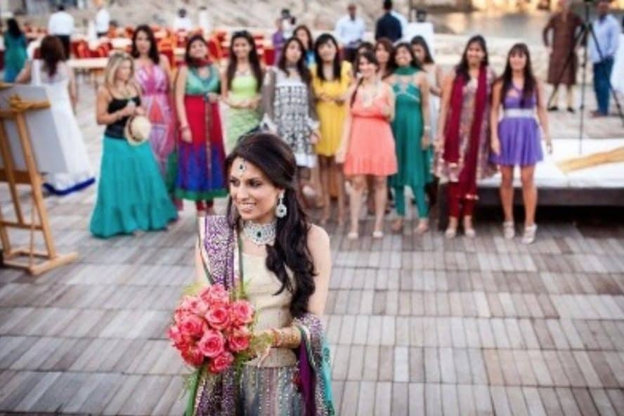 wedding photo ladies