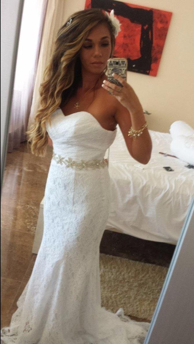 Solovedress Women's Lace Wedding Dress review