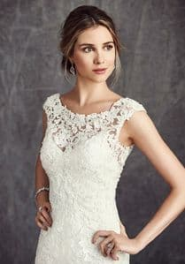 bateau wedding dress neckline
