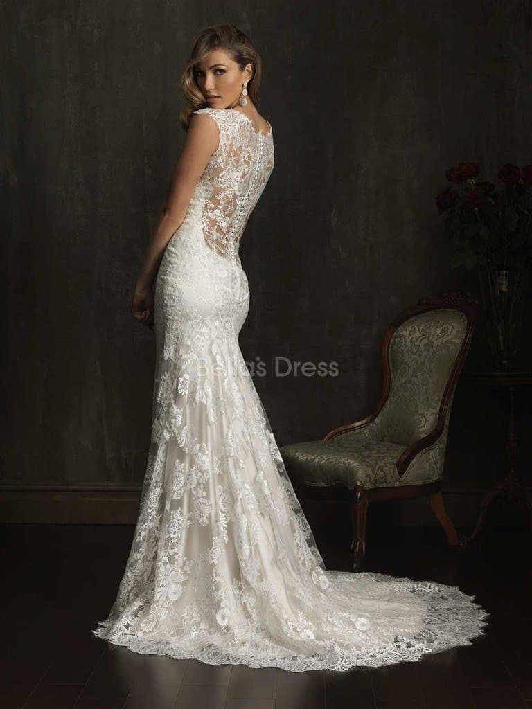 court train wedding dress