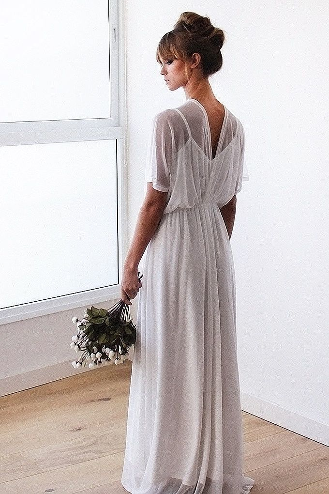 empire wedding dress shape