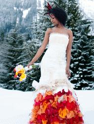 flame zolotova dress