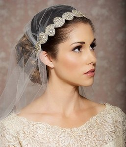 juliet cap wedding veil