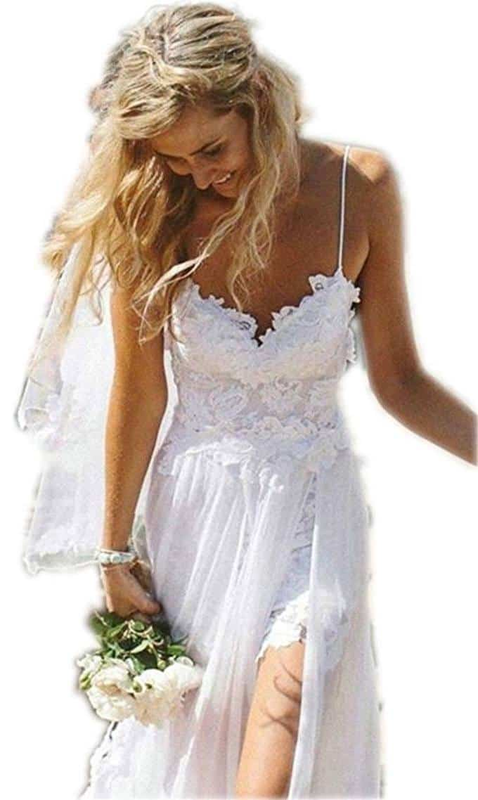 We Review 7 Of The Best Beach Wedding Gowns