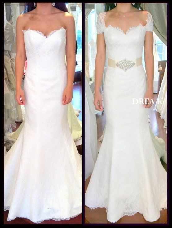 Wedding dress considerations for the mature bride for Bride dress after wedding