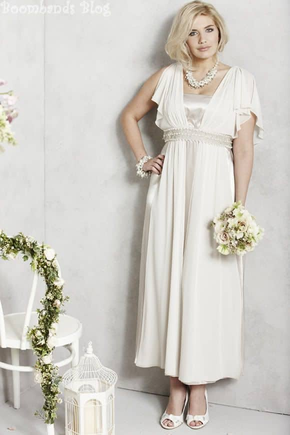 two piece wedding outfit for older brides