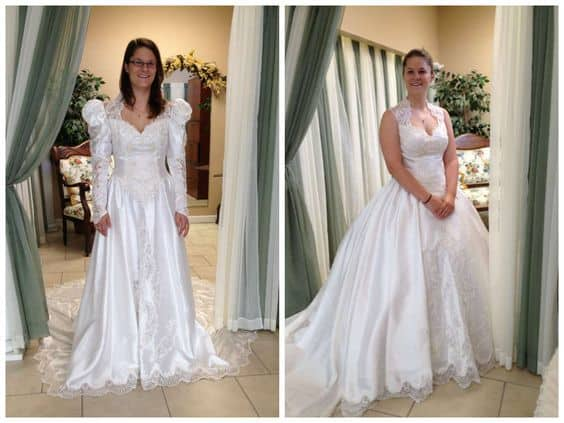Vintage Wedding Dress Alterations London Ways To Redesign A Gown