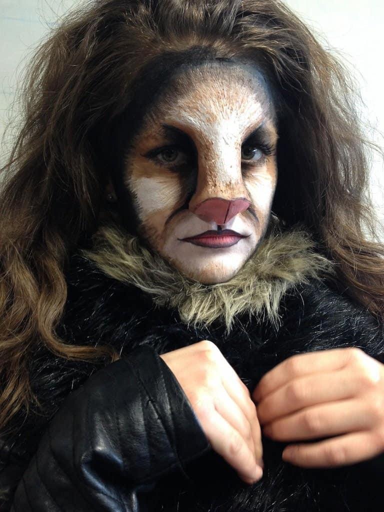 fancy feline makeup