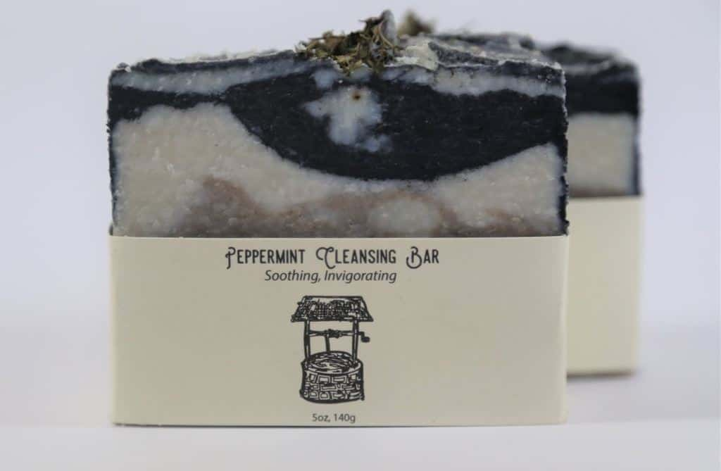 peppermint soap by the eco well