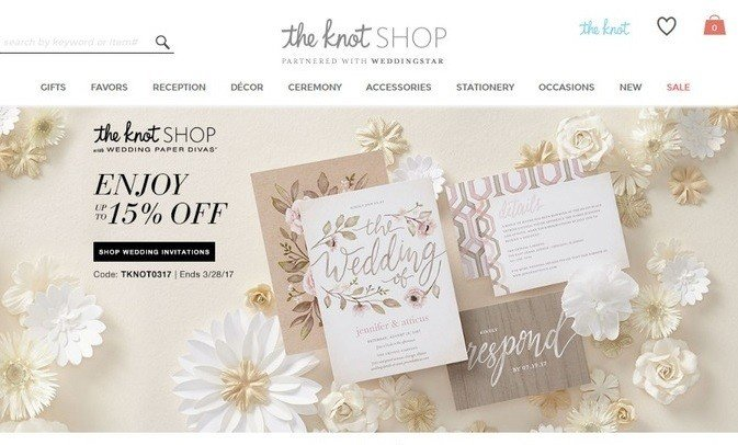 knot wedding shop