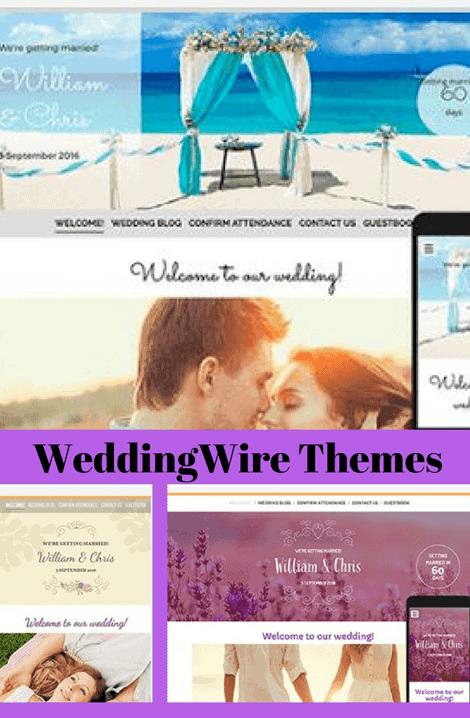 wedding wire themes