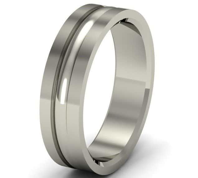 platinum men ring