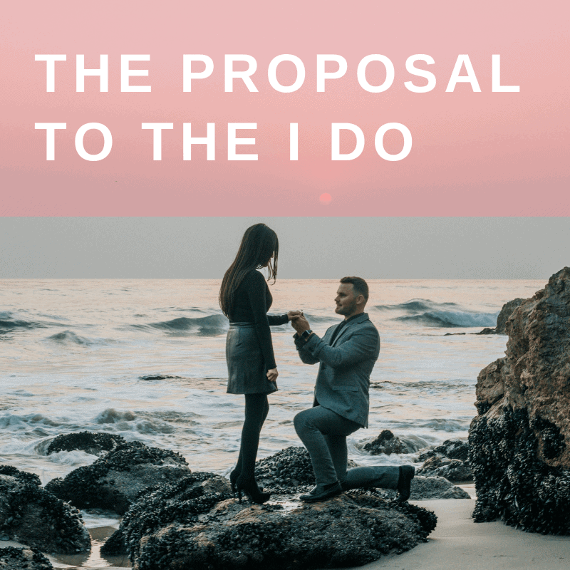 THE PROPOSAL TO THE I DO
