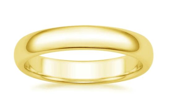 brilliant man's wedding ring