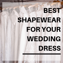 best shapewear for your wedding dress