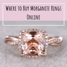 Where to Buy Morganite Rings Online