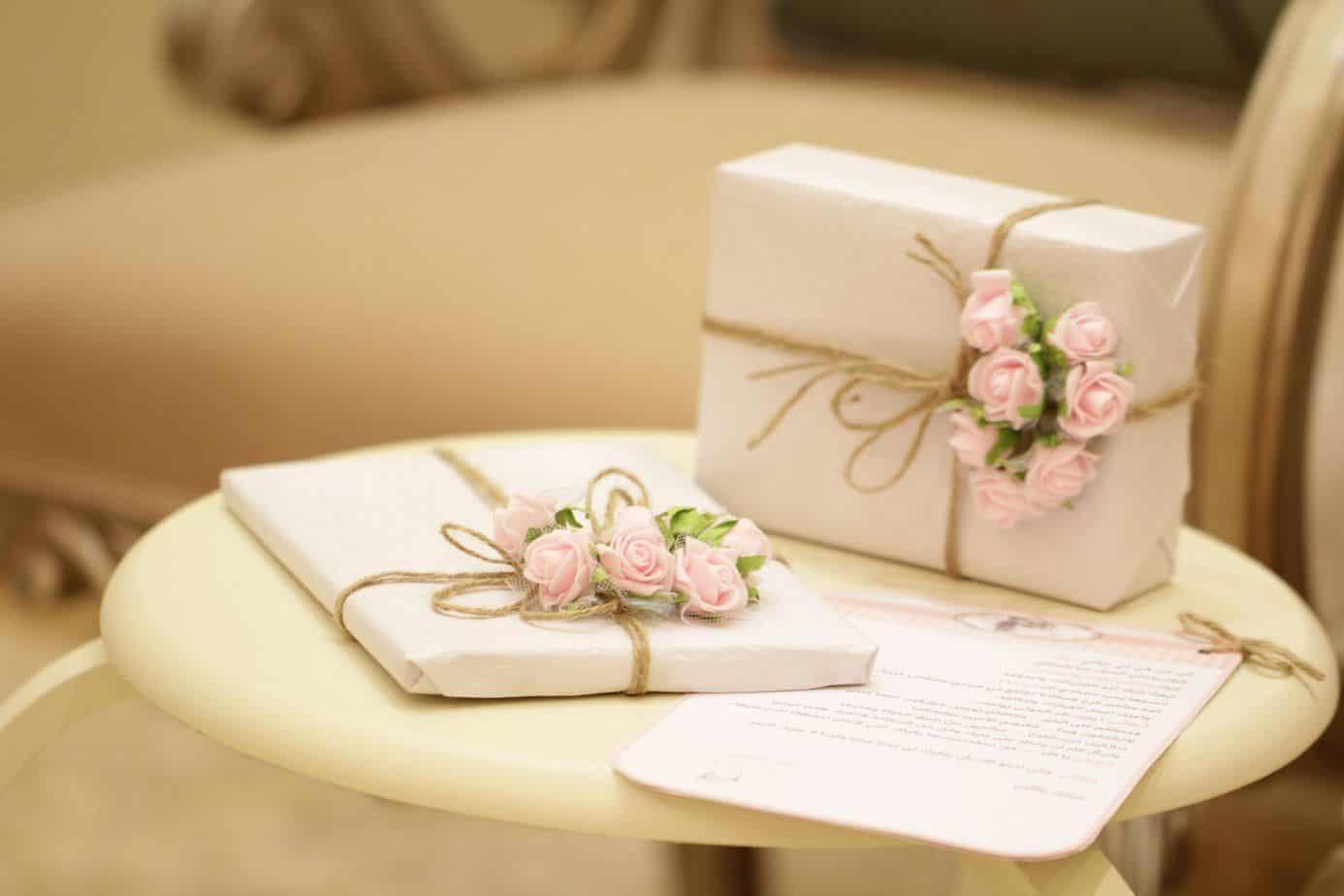 presents for wedding registries