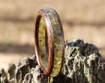 unique wooden ring