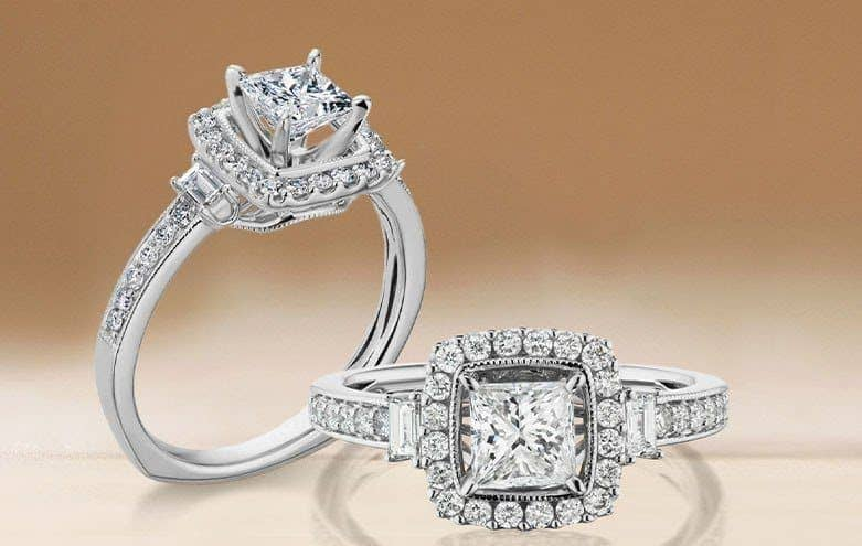 with clarity diamond ring