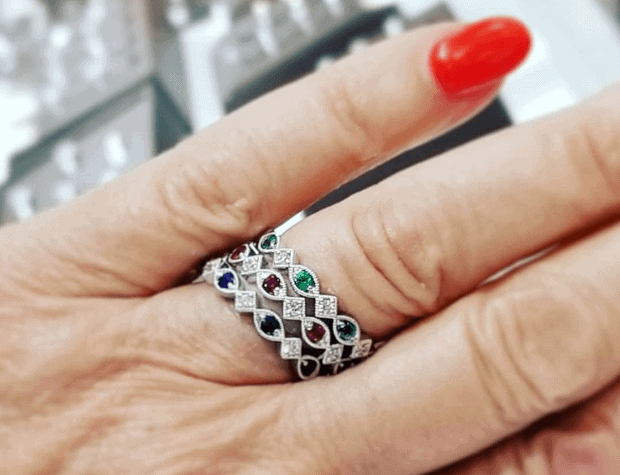 crown jewelers ring