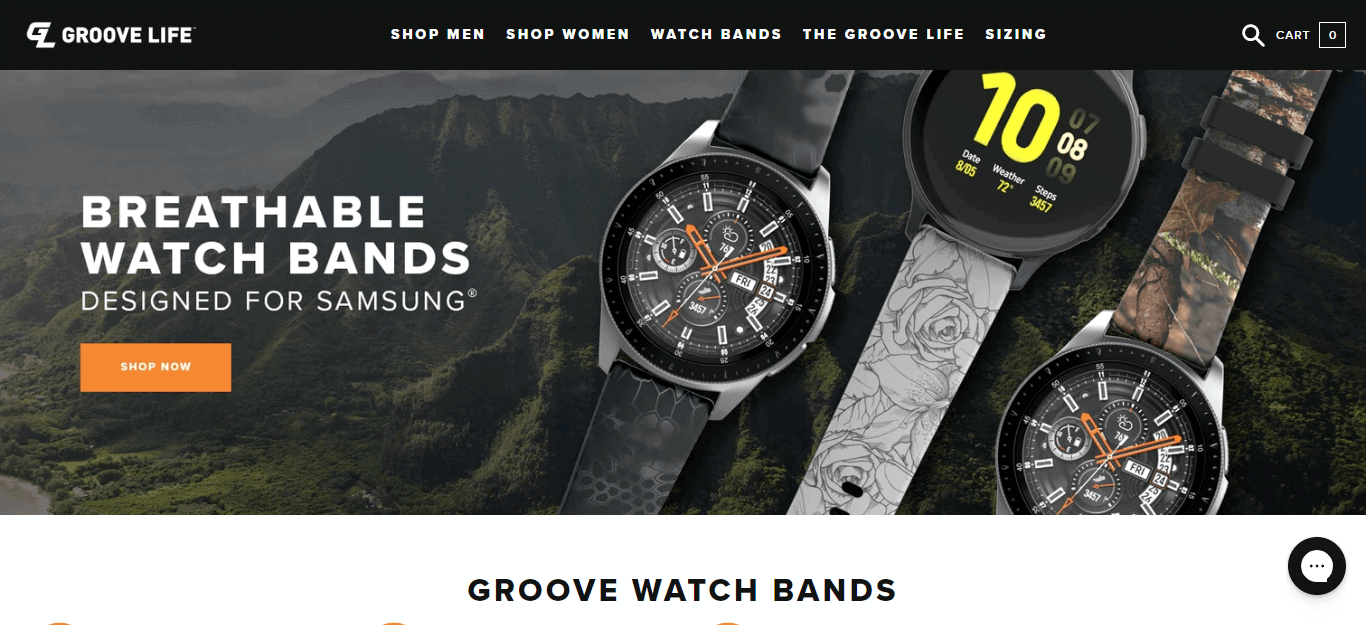 groove watch bands