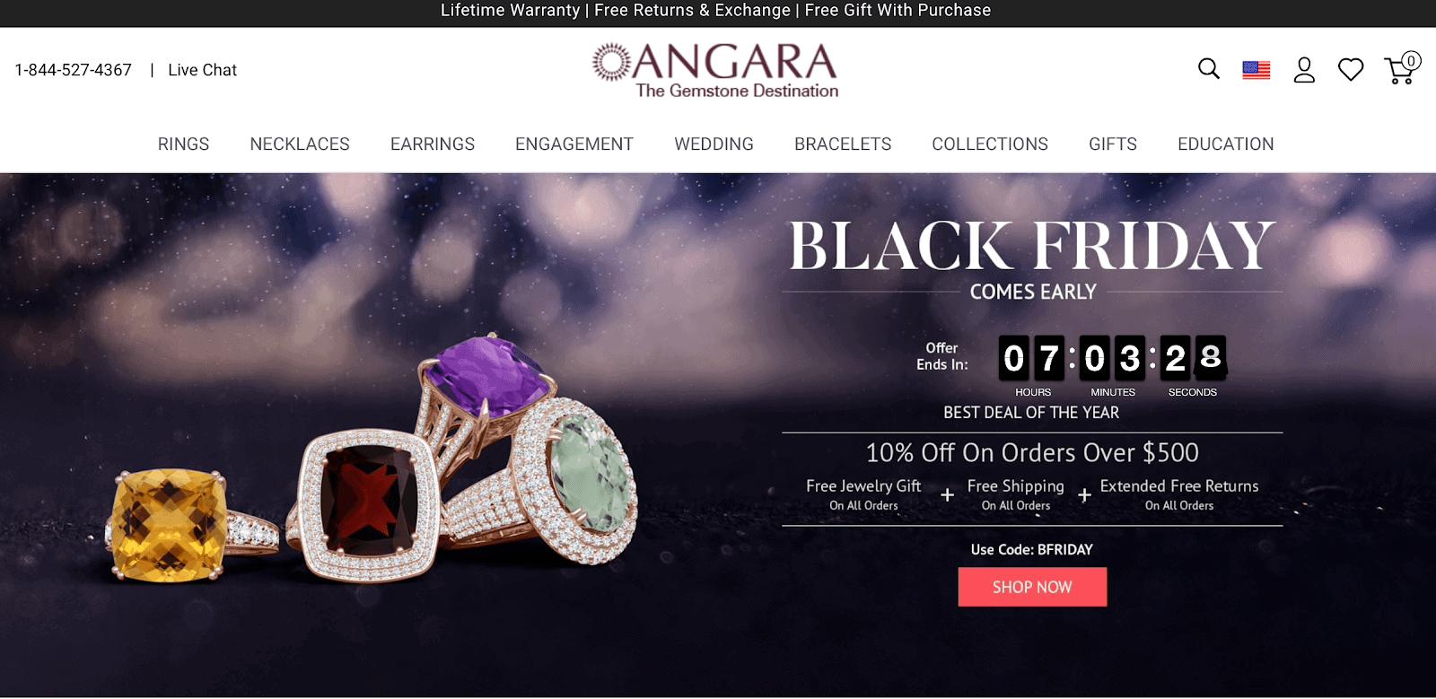 Angara home page